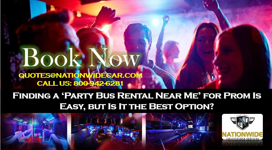 Finding a 'Party Bus Rental Near Me' for Prom Is Easy, but